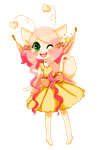 Rika's first pixel by Flyingwithyou
