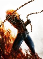 Ghost Rider by PierluigiAbbondanza