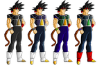 Bardock color swap by ruga-rell