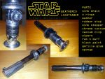Weathered lightsaber by ajb3art