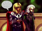 Commission - Thiefshipping meets Thorki by AngelLust155