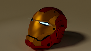 Ironman Helmet by Elavizz