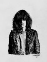 Joey Ramone by Skatefuc