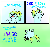 GOD I LOVE OATMEAL by ChanceyB