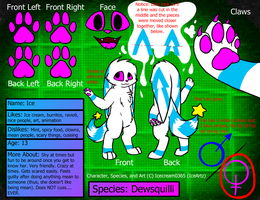 New Reference Sheet for Ice by Ice-Artz