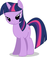 Twilight Sparkle Vector #01 by Spaz-Featherbrain