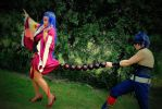 Gurren Lagann_Funny moment_Adiane and Simon by JamieCool
