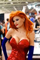 Jessica Rabbit FanExpo 2014 by Lightning--Baron