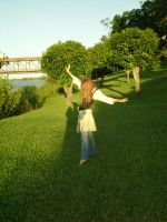 By the Riverside - Model 6 by faceless-stock