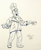 Signing Chef by Joe5art