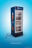 PEPSI - Unplugged visa cooler by rodrigozenteno