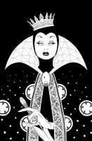 The Evil Queen by Kalman Andrasofszky by AshcanAllstars