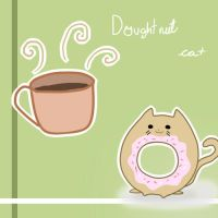 doughtnut cat by Zalandurthoth