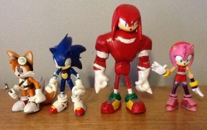 SONIC BOOM Customs by ArtKing3000