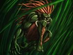 Blanka in Jungle by dalmation10k