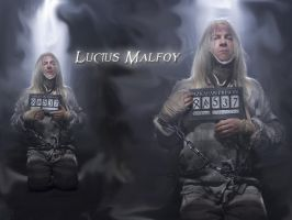 Wallpaper Lucius Malfoy by Mystique019