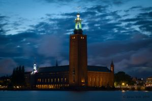 Stockholm City Hall by friedapi