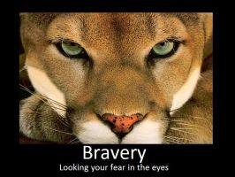 Bravery motivational by Serpent1212