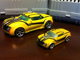 Detailed CV TFP Bumblebee altmode with FE BB by wulongti