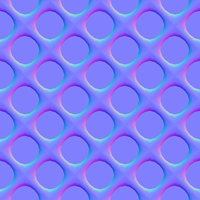 Circle Grid normal map by StanPancakes