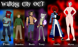 WCOCT - Some Characters by MrPr1993