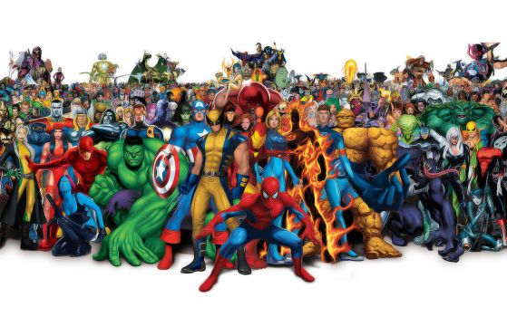 Marvel Universe by CTU-01