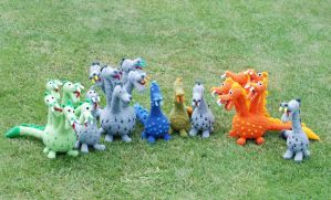 Another dragons :) on etsy :) by iasio