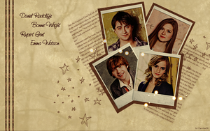 Harry Potter Wallpaper by Carribe24