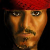 Captain Jack Sparrow by VesteNotus