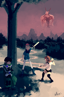 Attack on Alreon by SteedAngus