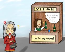 How to use Vitae - sell it by ShadowwolfSera