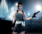 Jill Valentine : Umbrella Chronicles by ceriselightning