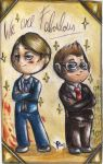Dr Lecter and Mr Finch - We are faboulous by FuriarossaAndMimma