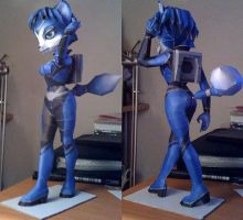Krystal papercraft by Teris-DA
