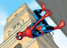 spidey in cadiz by deemonproductions
