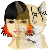 Fox-Fire Portrait :: With Fox by iFerneh