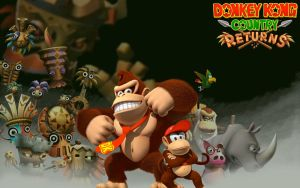 Donkey Kong Country Returns by TheSuperMarioNerd