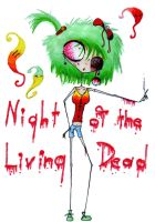 Night of the Living Dead by Kruczkowska