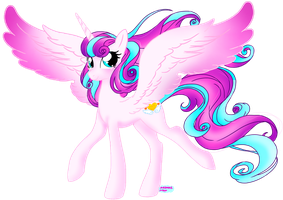 Princess Flurry Heart grown up by Natsumi-Nyan