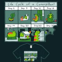 The Life Cycle of CATerpillar now on sale! by amegoddess