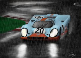 Porsche 917 Lemans 1970 by SARGY001