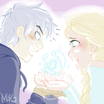 JackxElsa - Your powers are so cool! by LadyMika