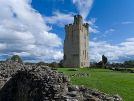 Helmsley Castle by davepphotographer