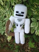 Minecraft Skeleton - Crochet by rdekroon