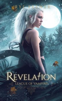 BOOK COVER V - REVELATION by MirellaSantana
