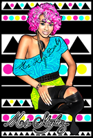 Vector I Done Of Keri Hilson by MsDaijahStylez