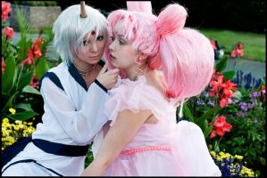 Helios und Chibiusa by Firiless