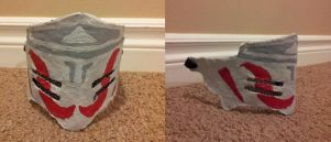 White Fang Cosplay: Completed Mask 3 by Thermochrome