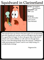 1001 Animations : Squidward in Clarinetland by Ragameechu