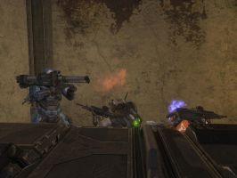 Halo Reach: silly caboose by purpledragon104